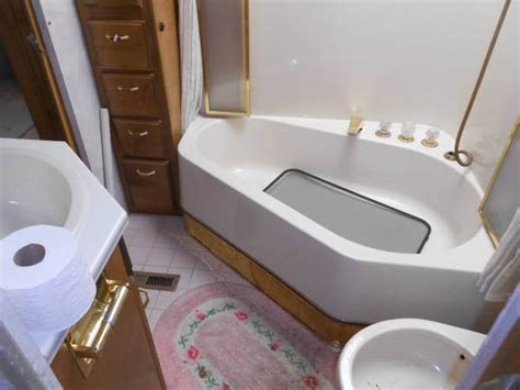 rv bathroom remodeling ideas rv remodel done right 1994 safari continental goes from