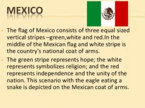 what do the colors of the mexican flag 20 countries and flag history