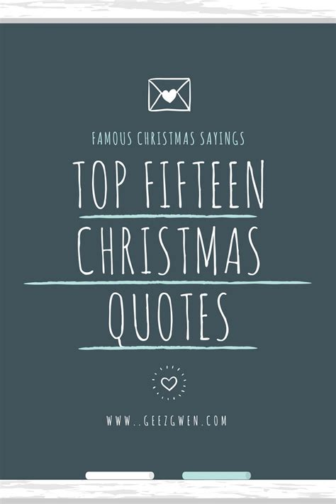 Quotes And Sayings Top Fifteen Best Quotes And Sayings Geez Gwen