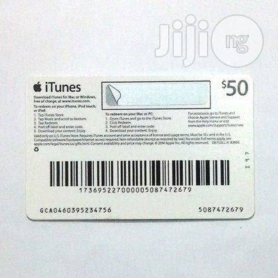 Buy Itunes Gift Card With Mobile - apple itunes gift card 50 for sale in ikeja buy accessories for mobile phones and