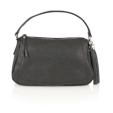 lotus bags lotus handbags petal black leather shoulder handbag