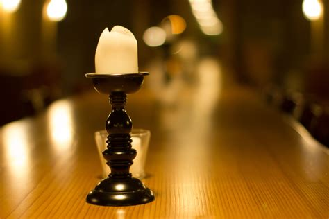 Candle Table by Welcomed Wanderings