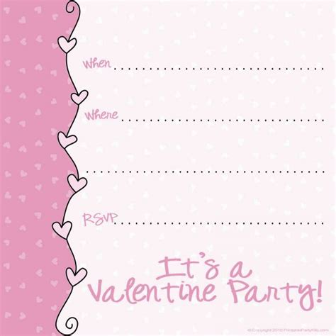 valentines day template free disney s day card templates pattern