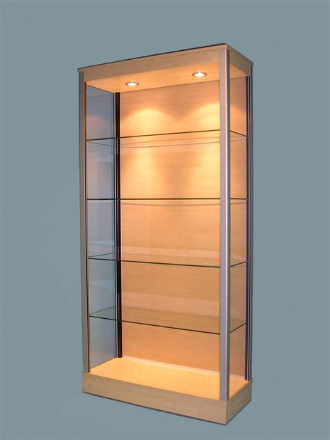 Large Glass Display Cabinets   Designex Cabinets   Large