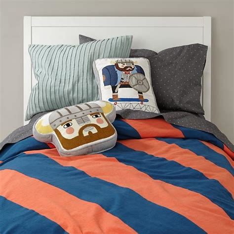 orange and blue bedding dapper duvet cover blue orange contemporary kids