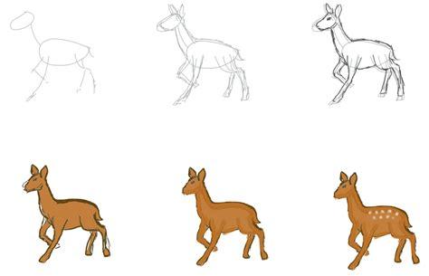 tutorial menggambar burung elang cara menggambar rusa