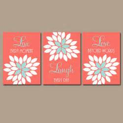 live laugh coral wall coral nursery decor baby
