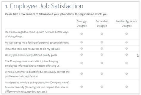 Employee Engagement Survey Template Sle Employment Engagement Survey 11 Documents In Pdf Qualtrics Survey Templates