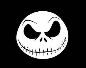Jack skellington face wall laptop decal nightmare before christmas