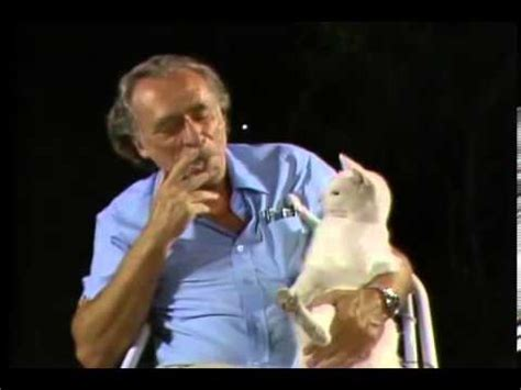 Charles And Ceits charles bukowski and his cat minx
