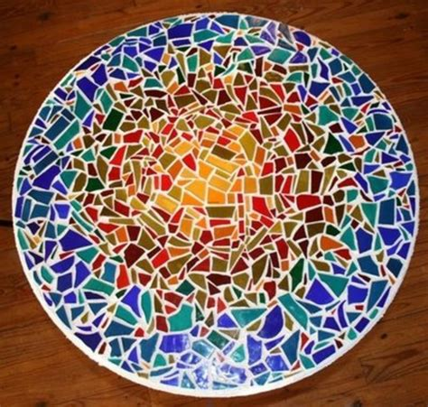 glass mosaic pattern maker i have made several mosaic tabletops they are so easy and
