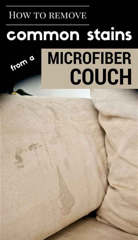 how to remove couch stains how to remove common stains from a microfiber couch