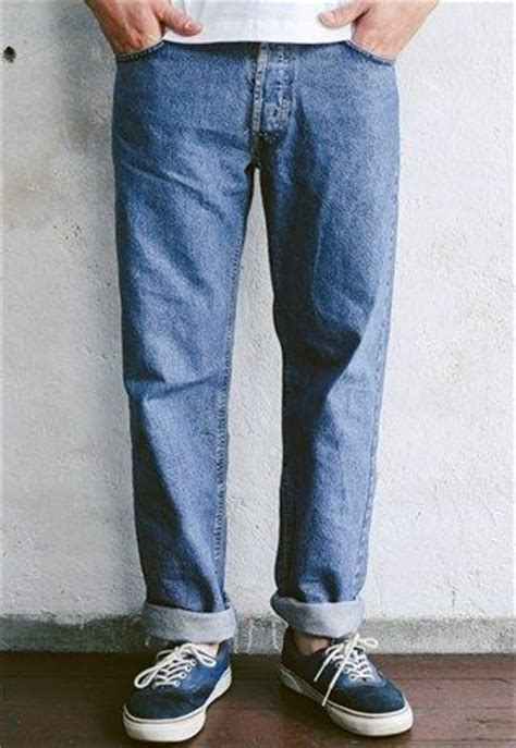Vintage 90s Levi's 501 Faded Worn In Blue Normcore Jeans