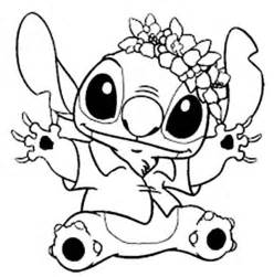 Stitch And Angel Coloring Pages Free Of Disney  sketch template