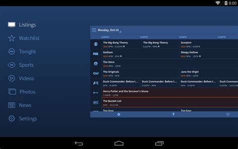 tv guide android apps on play - Tv Listings For Android
