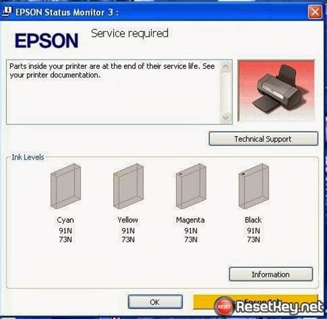 reset key l1300 reset epson printer error epson l1300 waste ink counter