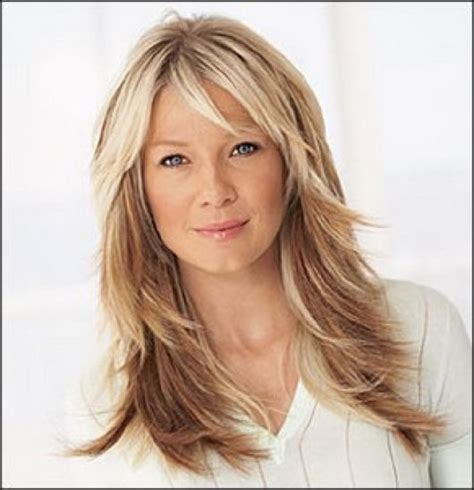 women s golden strawberry blonde shaggy layered cut with 2015 hair styles for woman long hair layered long shaggy
