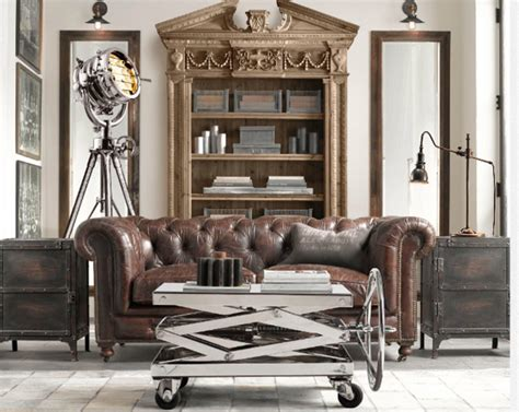 industrial style couches industrial style furniture interiors pinterest