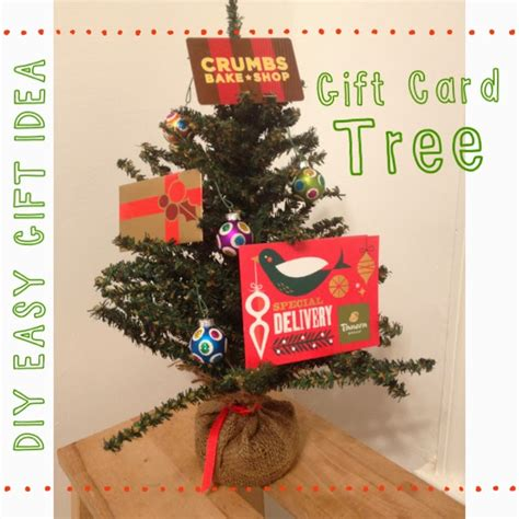Gift Card Trees - last minute gift idea gift card tree the chirping moms