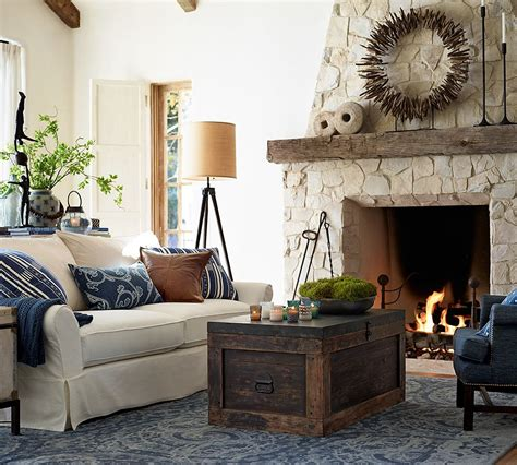 pottery barn livingroom pottery barn living room navy living room design ideas