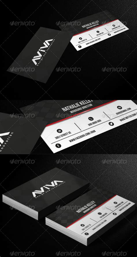 formal business card template formal black and white rental business card template