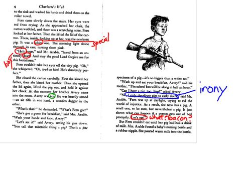 concerning children annotated books in the classroom annotating charlotte s web educating