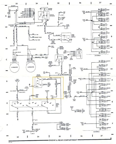 fiero wiring diagram pennock s fiero forum light harness diagram by