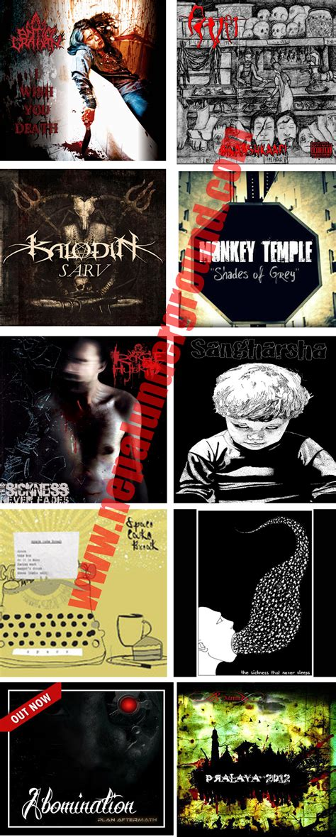 best metal albums of 2012 nepali underground in 2012 a brief look back