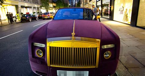 roll royce burgundy rolls royce covered in velvet turns heads but it s not the