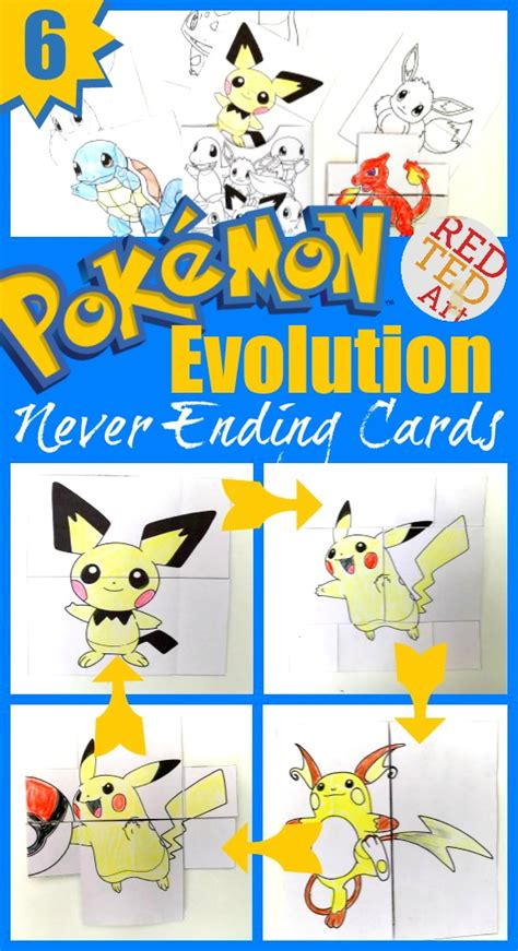 endless card template pdf evolution cards printables ted s