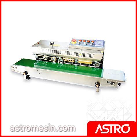 Alat Press Plastik Di Surabaya mesin continuous sealer surabaya harga mesin sealer