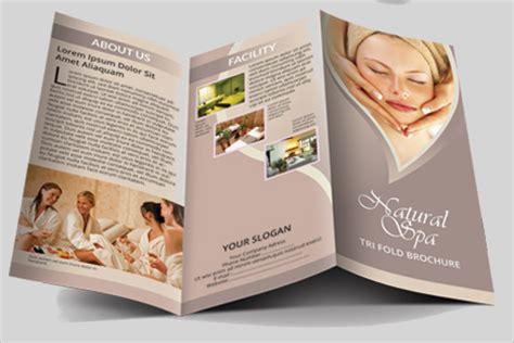 Sle Theme 28 Spa Brochure Design Templates Free Spa Brochure Templates