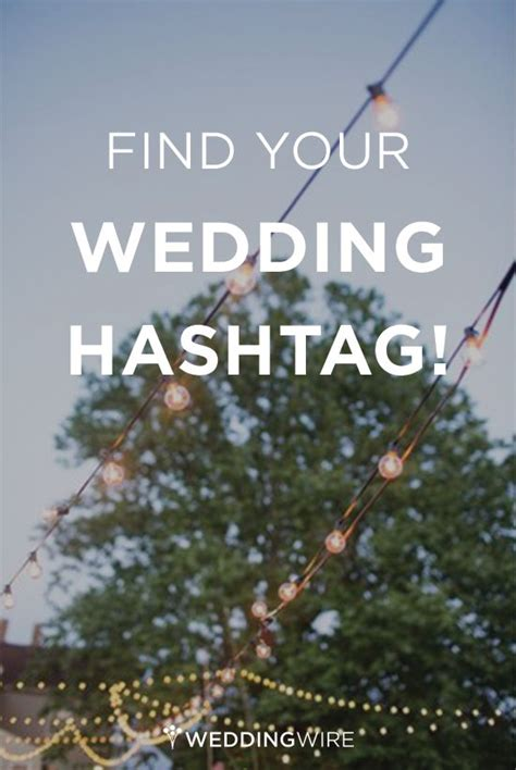 Wedding Day Hashtag Generator by Wedding Awesome And Unique On