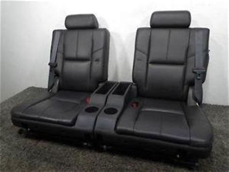 suburban 3rd row seat stuck upright replacement gm oem suburban tahoe 3rd row leather seat