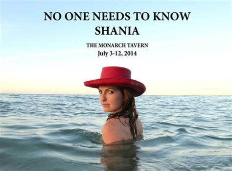 no one needs to shania grey productions 2014 toronto fringe review mooney on theatre
