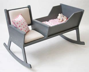 rocking chair cradle combo for the