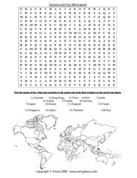 printable word search geography esl english vocabulary printable vocabulary exercises