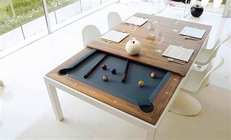 Kitchen Pool Table Turn Your Dinner Table Into A Pool Table Better Living