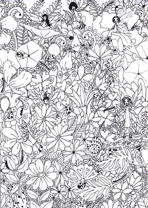 coloring pages for adults garden my garden colouring page luhur hati