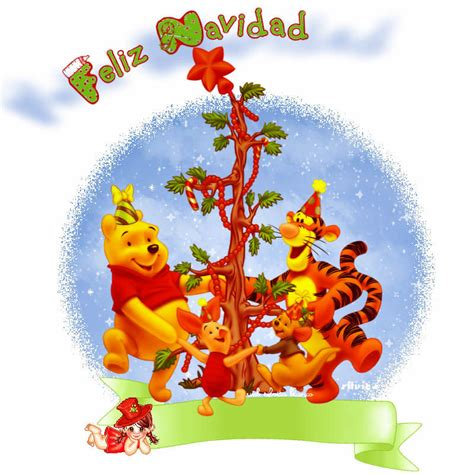 imagenes animadas de winnie pooh en navidad winnie pooh navidad
