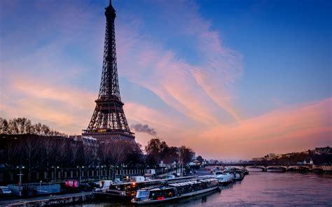 imagenes de fondo de pantalla de la torre eiffel fondo de pantalla torre eiffel paris francia barco de rio hd