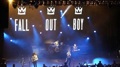 Fall Out Boy Got Streamed Live by I Don T Care Fall Out Boy Live In Concert Miami 2013