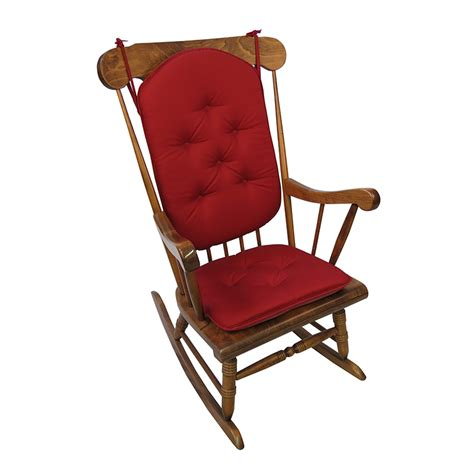 rocking chair pad set the gripper 2 delightfill rocking chair cushion set