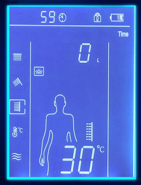 Touch Screen Shower by Darnell Thermostatic 3 Way Digital Shower Mixer Valve With