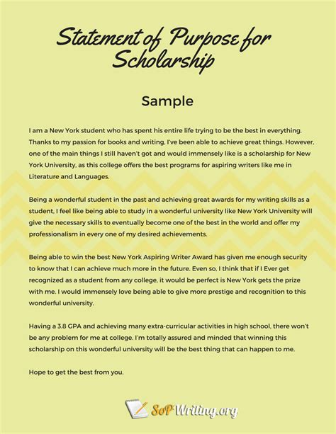 Letter Of Intent Sle Scholarship scholarship statement of intent 28 images sle statement of purpose of any for you sle