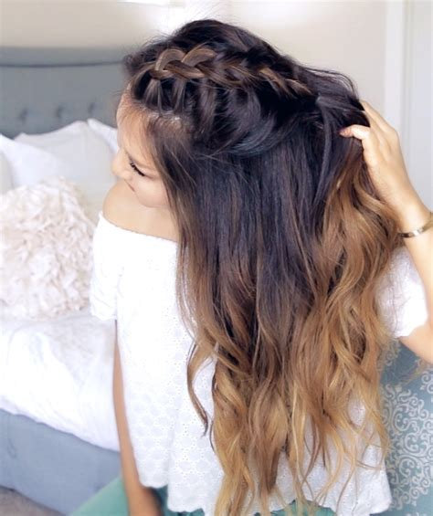 cute hairstyles for hoco romantic mohawk braid tutorial with nexxus makeupwearables