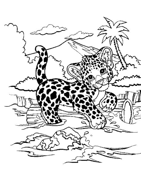 lisa frank coloring pages animals free coloring pages