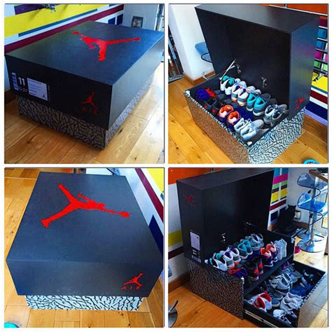 shoe box storage solutions awesome sneaker storage solution inspired by air 3