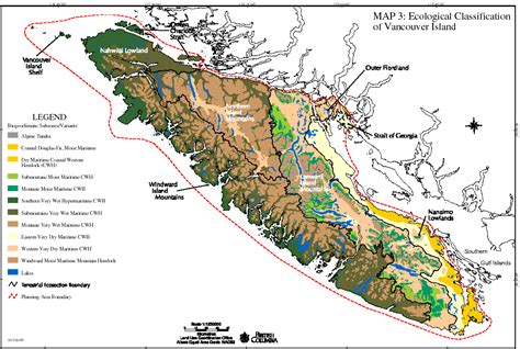 map of vancouver island area detail maps of thetis island gulf islands pacific