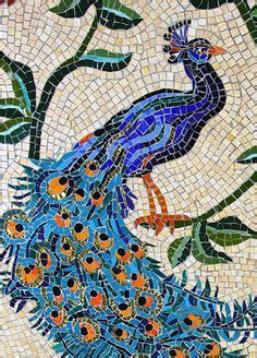 mosaic pattern peacock mosaic on pinterest mosaics mirror mosaic and koi